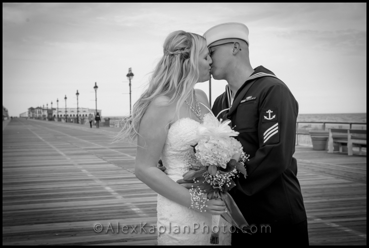 Wedding at the Flanders Hotel - Ocean City, NJ 08226 By Alex Kap