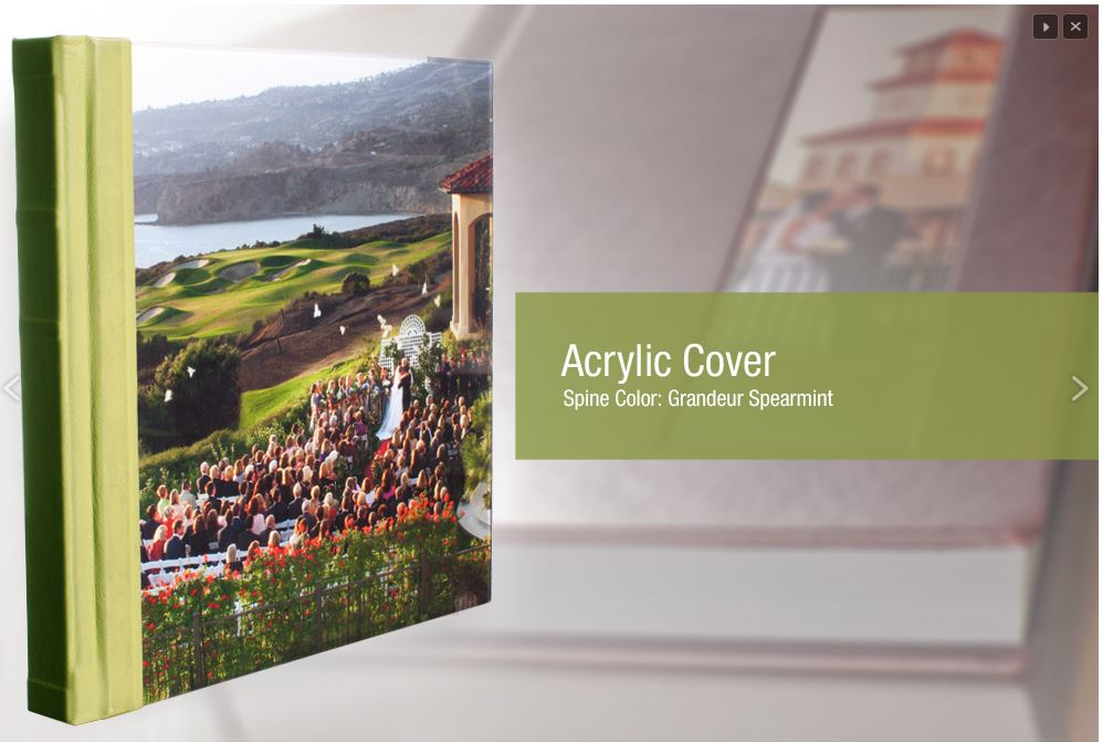 Acrylic Cover Wedding Albums & Photo Books Sample Pictures