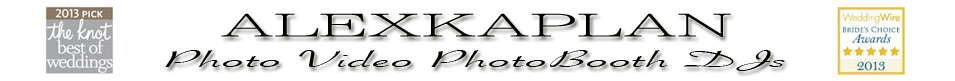 New Jersey/York Premier Wedding Photography by Alex Kaplan Photography, Videography, Photo Booth Specialists! logo